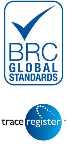 BRC and Trace Register Logos
