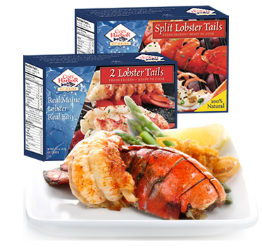 Frozen Lobster Tails from Maine - Buy Lobster Tails