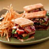 Maine Lobster Club Sandwich Recipe with Avocado and Arugula